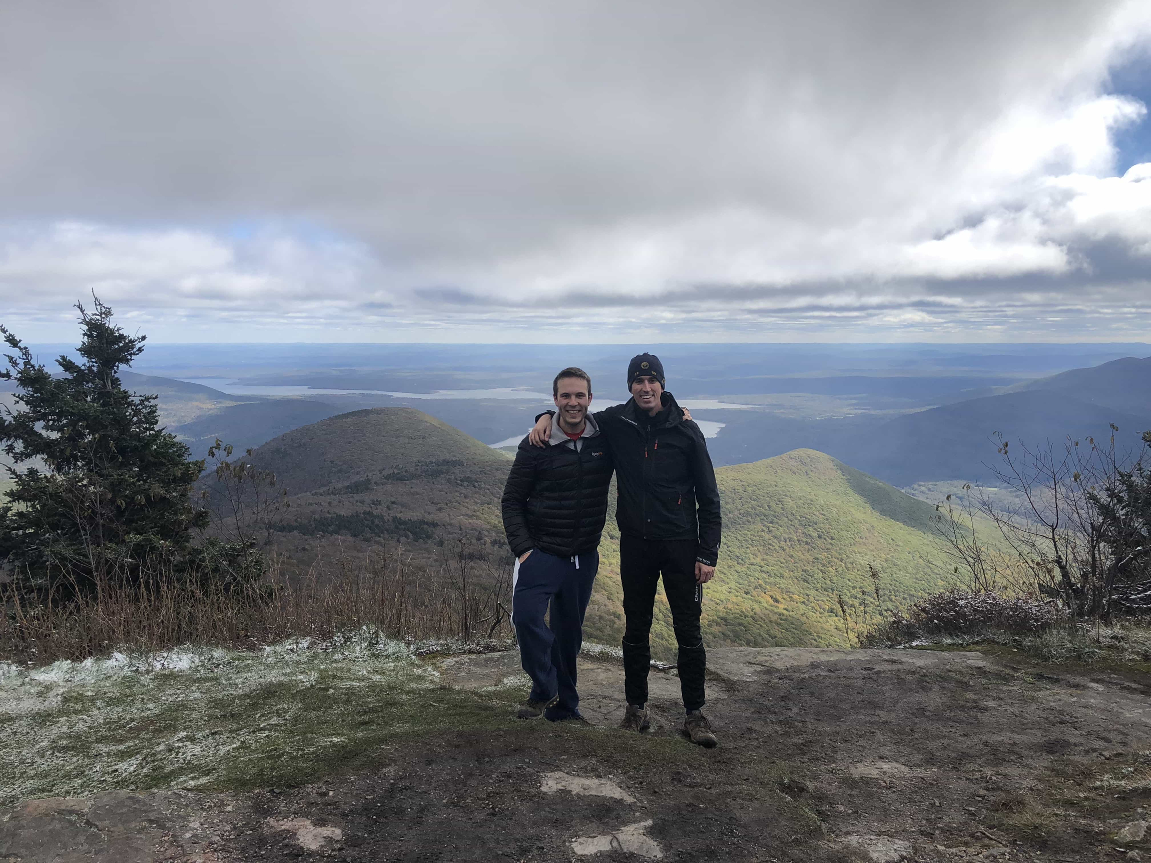 The hike where Travis joined Pawlicy Advisor